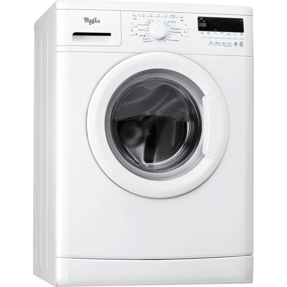 Whirlpool frontmatad tvättmaskin: 7 kg - AWO/D 7104