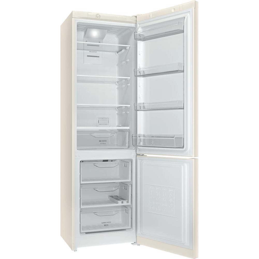 Indesit Холодильник с морозильной камерой Отдельностоящий DF 4200 E Розово-белый 2 doors Perspective_Open