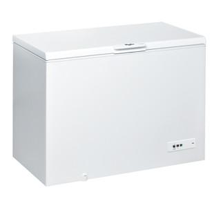 Congélateur coffre posable Whirlpool: couleur blanche - CF 430 A+ FO