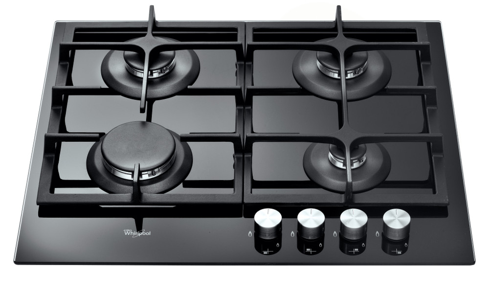 Whirlpool Plită GOS 6415/NB Negru Gaz'Mix Frontal top down