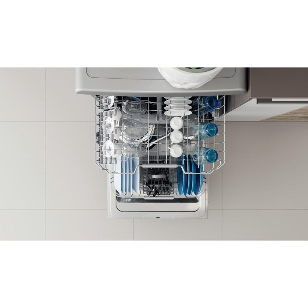 Indesit Посудомоечная машина Отдельностоящий DFC 2B+16 S Отдельностоящий A Rack