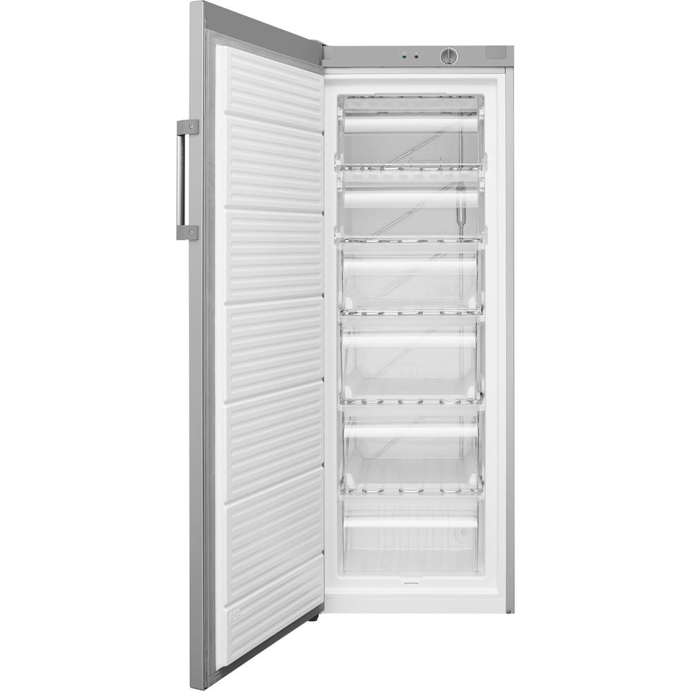 Indsit Congelator Independent UI6 1 S.1 Silver Frontal open