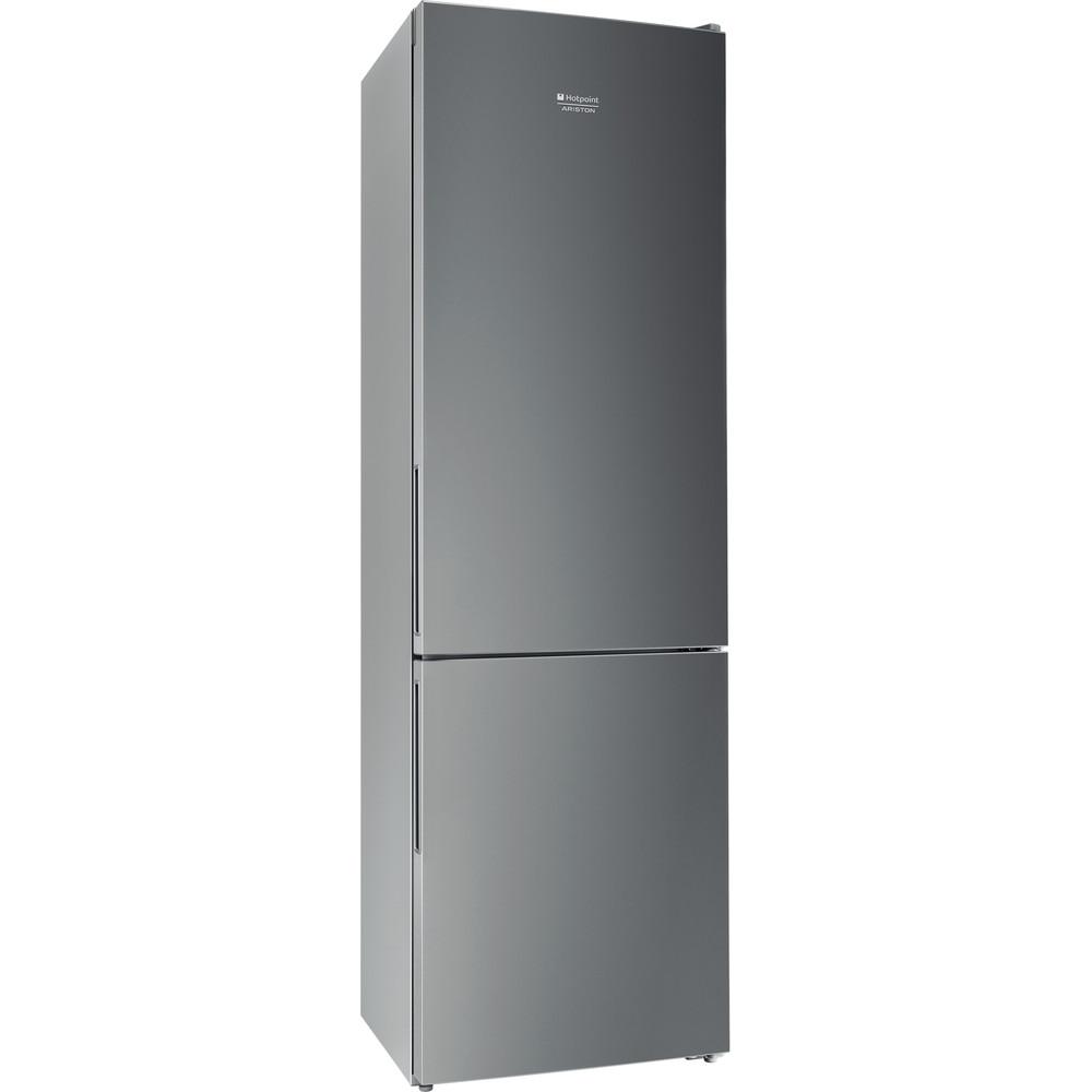Hotpoint_Ariston Комбинированные холодильники Отдельностоящий HF 4200 S Серебристый 2 doors Perspective