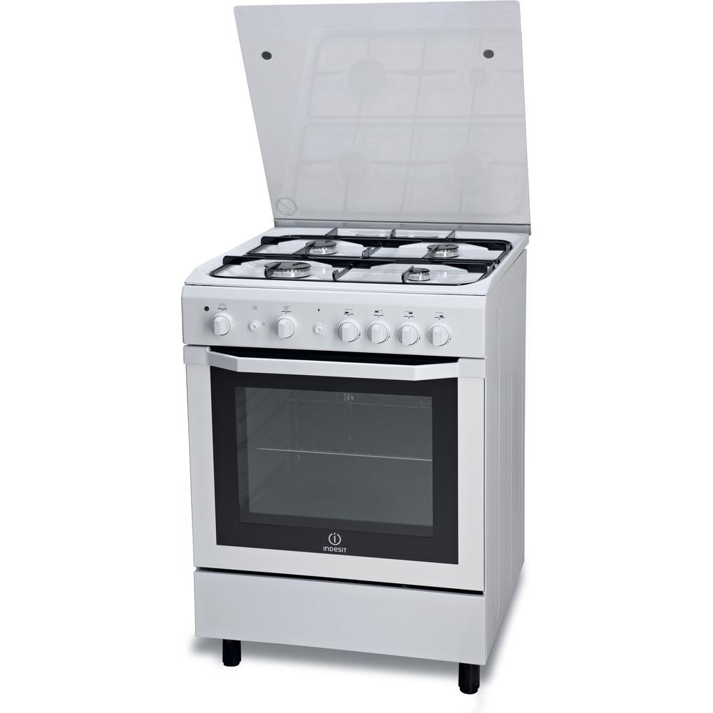 Indesit Cucina con forno a doppia cavità I6GG1F(W)/I Bianco Perspective