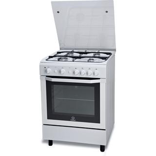 Indesit gas freestanding cooker: 60cm