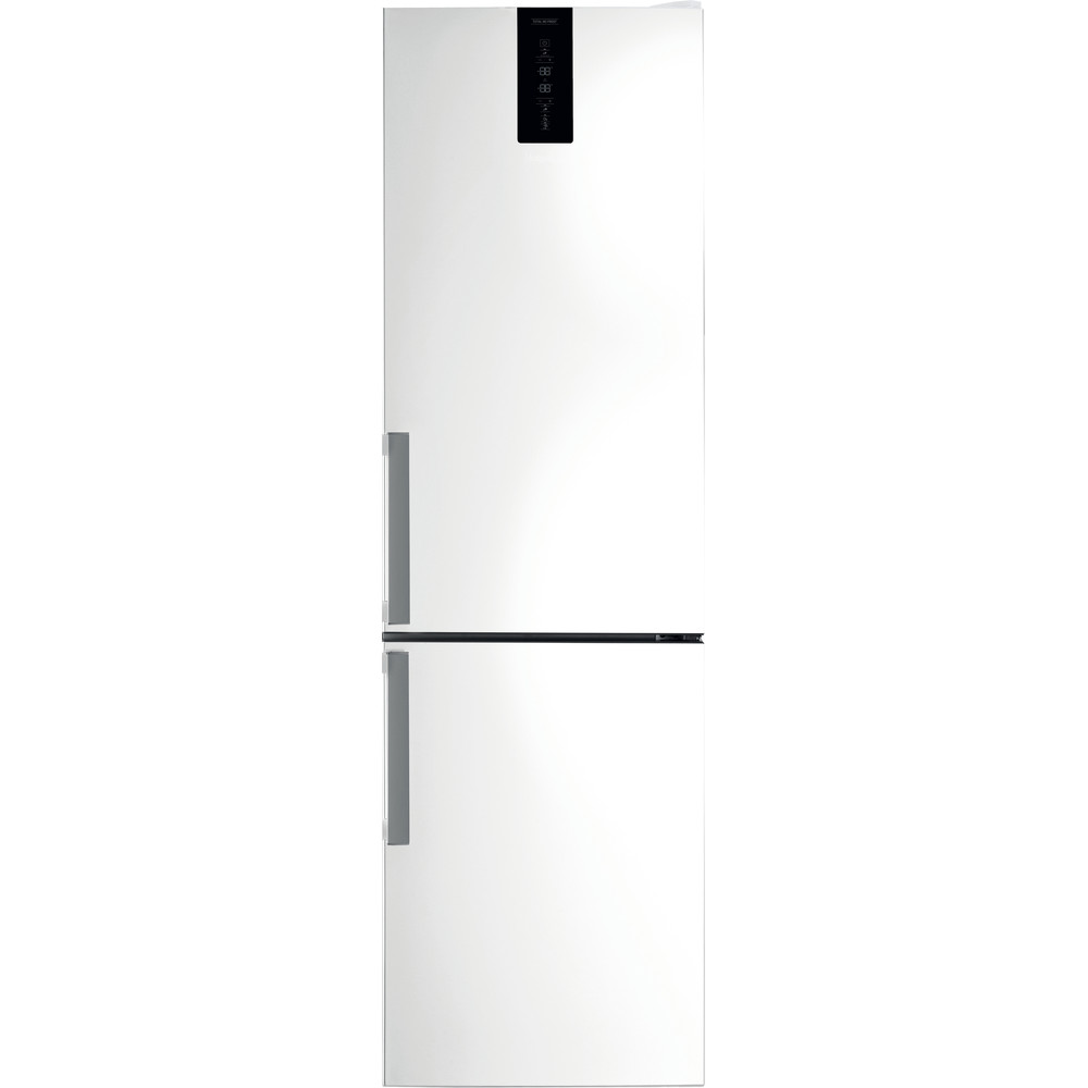 Hotpoint Fridge Freezer Free-standing H7NT 911T W H 1 Mirror/Inox 2 doors Frontal