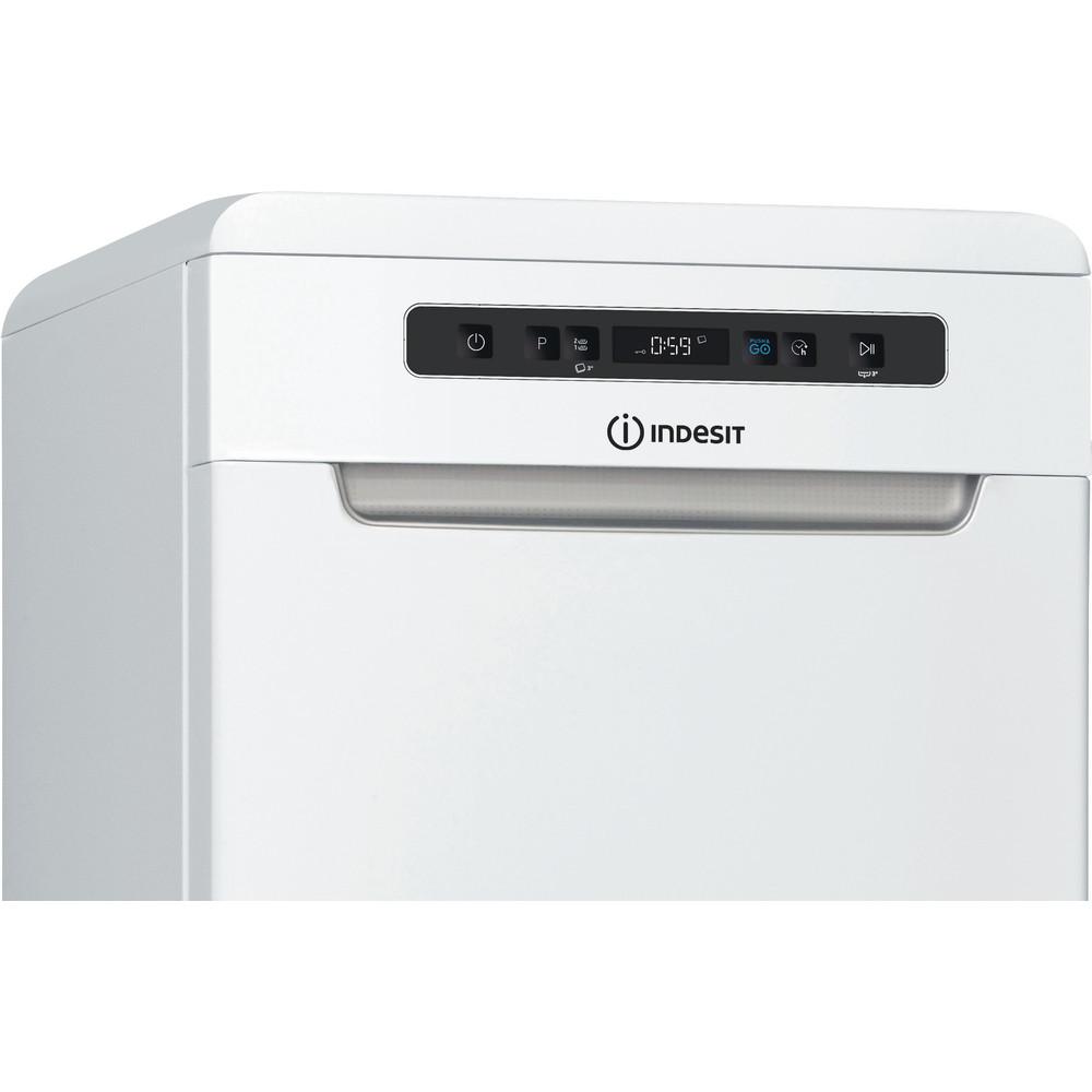 Indesit Trauku mazgājamā mašīna Brīvi stāvošs DSFO 3T224 C Brīvi stāvošs A++ Control panel