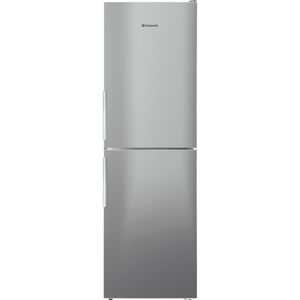 Hotpoint Fridge Freezer Free-standing XECO95 T2I GH.1 Graphite 2 doors Frontal