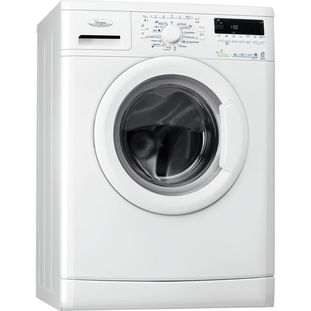 Whirlpool frontmatad tvättmaskin: 8 kg - AWO/D 8