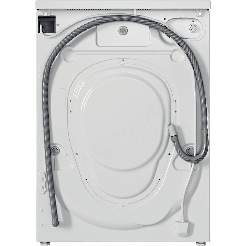 Indesit Washing machine Free-standing IWC 71252 W UK N White Front loader E Back / Lateral