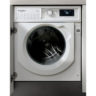 Whirlpool BI WDWG 861484 UK Built in Washer Dryer 8+6kg 1400rpm - White
