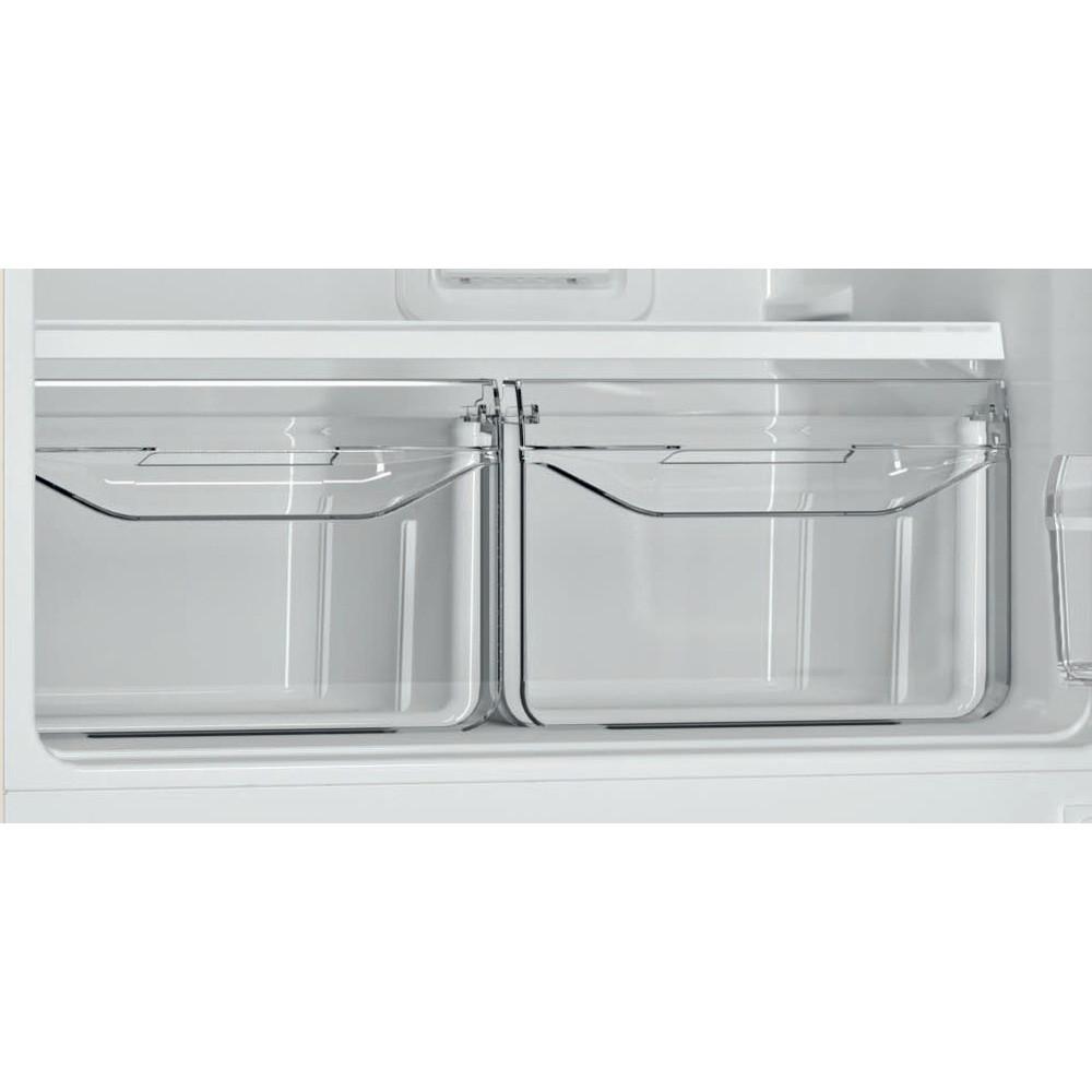 Indesit Холодильник с морозильной камерой Отдельностоящий DF 5200 E Розово-белый 2 doors Drawer