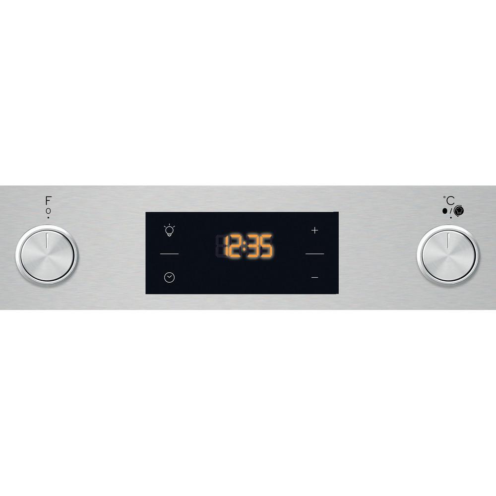 Indesit Духові шафи Вбудований (-а) IFW 3540 J IX Електрична A Control panel