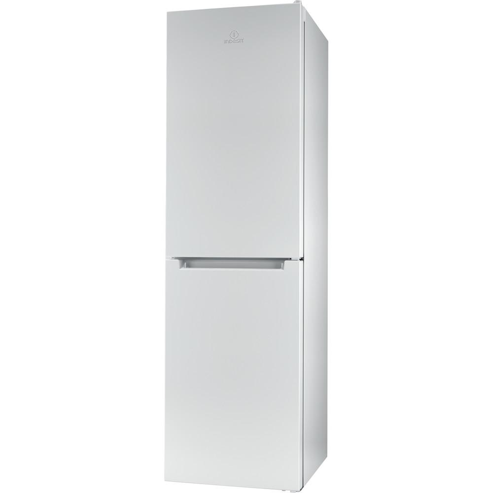 Indesit Kombinovaná chladnička s mrazničkou Volně stojící LR9 S2Q F W B Bílá 2 doors Perspective