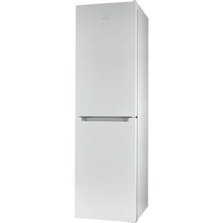 Indesit Combinación de frigorífico / congelador Libre instalación LR9 S2Q F W B Blanco 2 doors Perspective