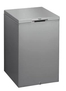 Congélateur coffre posable Whirlpool: couleur argent - CF 20 S 2