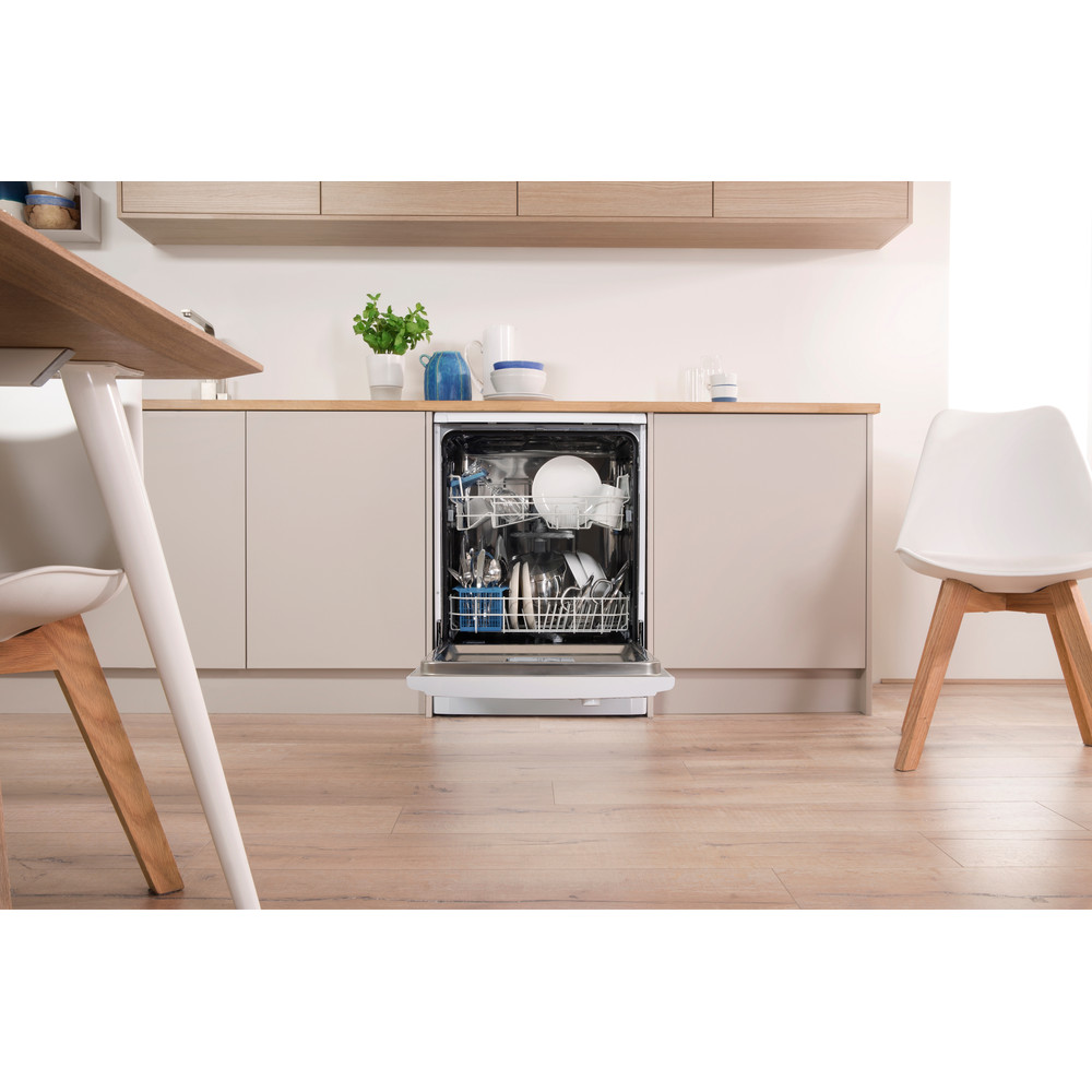 Indesit Dishwasher Free-standing DFGL 17B19 UK Free-standing A Lifestyle frontal open