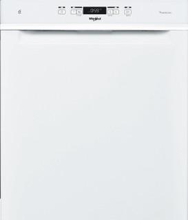 Whirlpool-opvaskemaskine: hvid farve, fuld størrelse - WUC 3T141 P