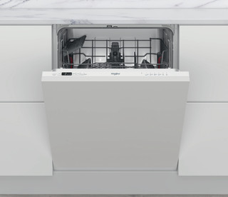 Kalusteisiin sijoitettava Whirlpool astiapesukone: Valkoinen, Täysikokoinen - WIC 3B19