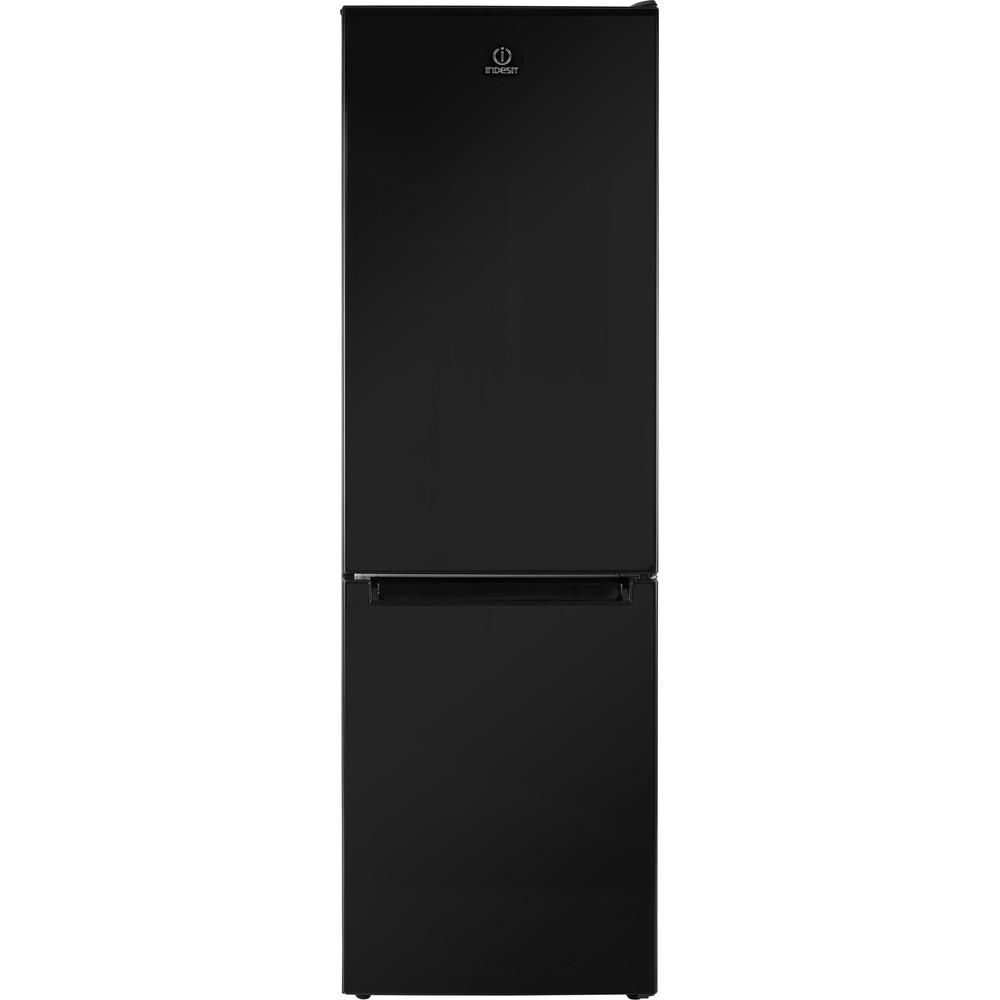Indesit Réfrigérateur combiné Pose-libre LR8 S2 K B Noir 2 portes Frontal