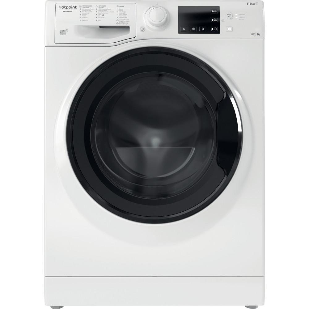 Hotpoint_Ariston Máquina de lavar e secar roupa Livre Instalação RDG 864348 WK V SPT Branco Carga Frontal Frontal