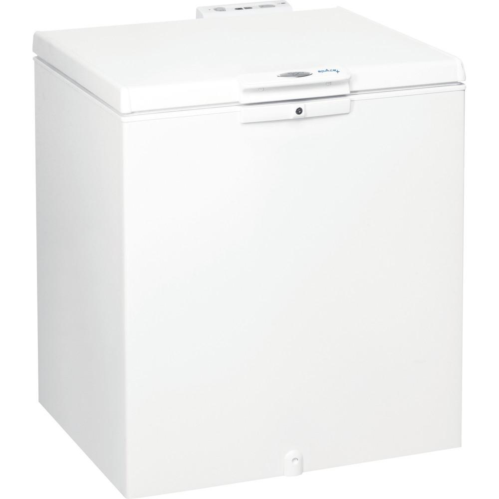 Whirlpool frysbox: färg vit - WH2010 A+