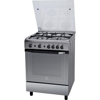 Cucina a gas a libera installazione Indesit: 60 cm