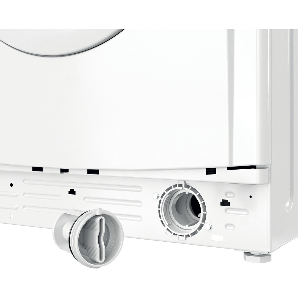 Indesit Перална машина Свободностоящи EWC 81483 W EU N Бял Предно зареждане D Filter