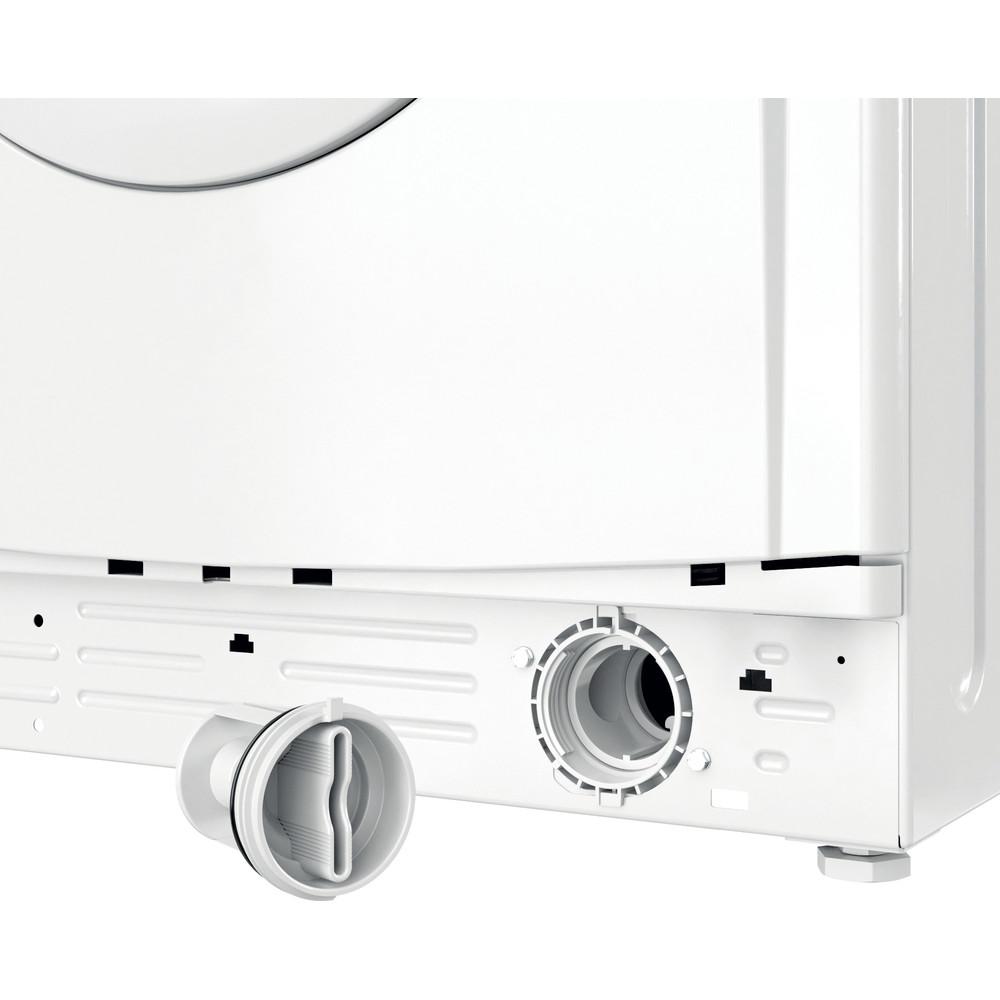 Indesit Lave-linge Pose-libre EWC 81483 W EU N Blanc Frontal D Filter