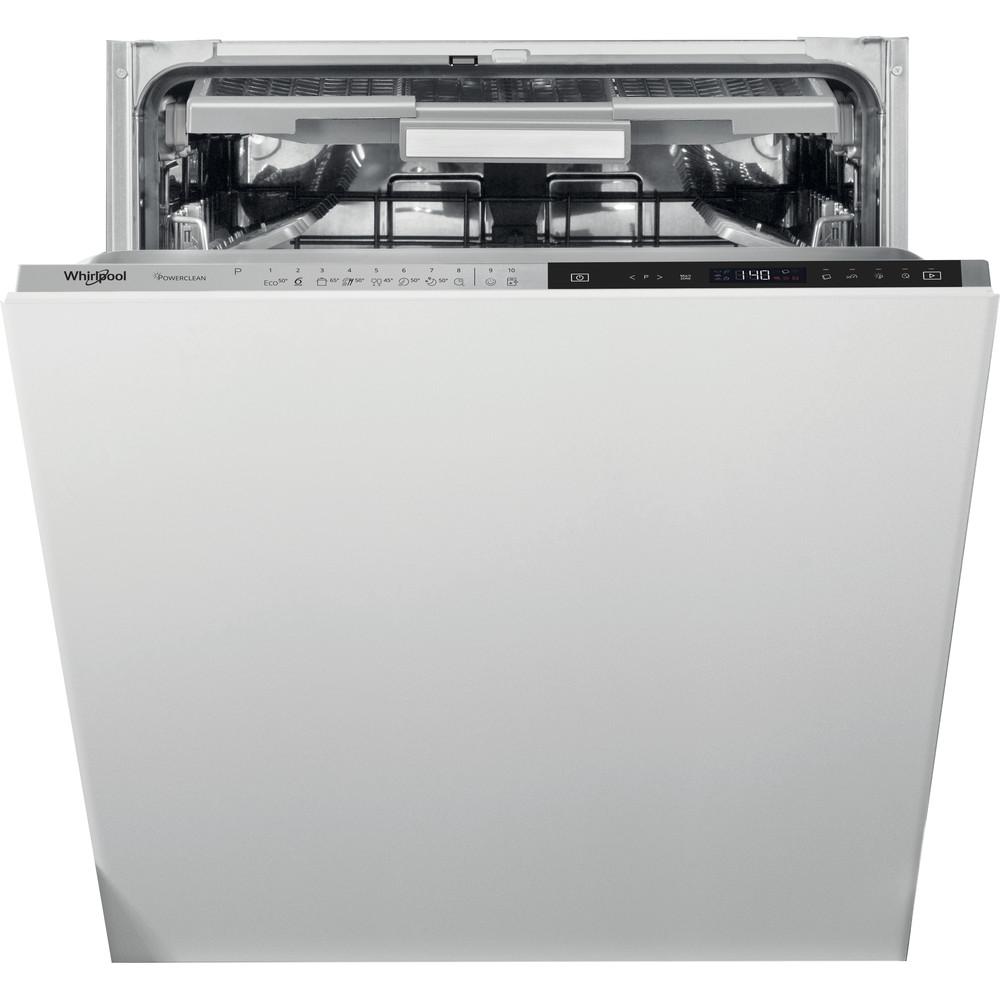 Whirlpool integrerad diskmaskin: färg svart, 60 cm - WIP 4T133 PFE