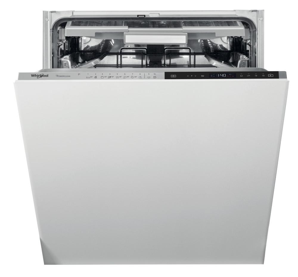 Whirlpool Astianpesukone Kalusteisiin sijoitettava WIP 4T133 PFE Full-integrated D Frontal