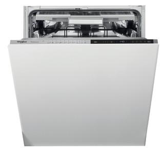 Whirlpool beépíthető mosogatógép: fekete szín., normál méretű - WIP 4T133 PFE