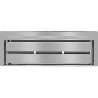 Whirlpool W Collection WHSS 90F TS K Cooker Hood - Stainless Steel and Black