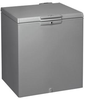 Congélateur coffre posable Whirlpool: couleur argent - CF 28 S 2