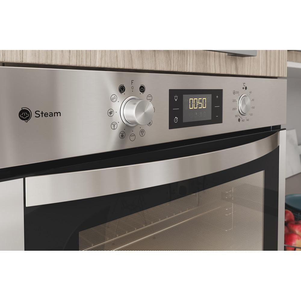 Indesit Forno Da incasso IFWS 5844 JH IX Elettrico A+ Lifestyle control panel