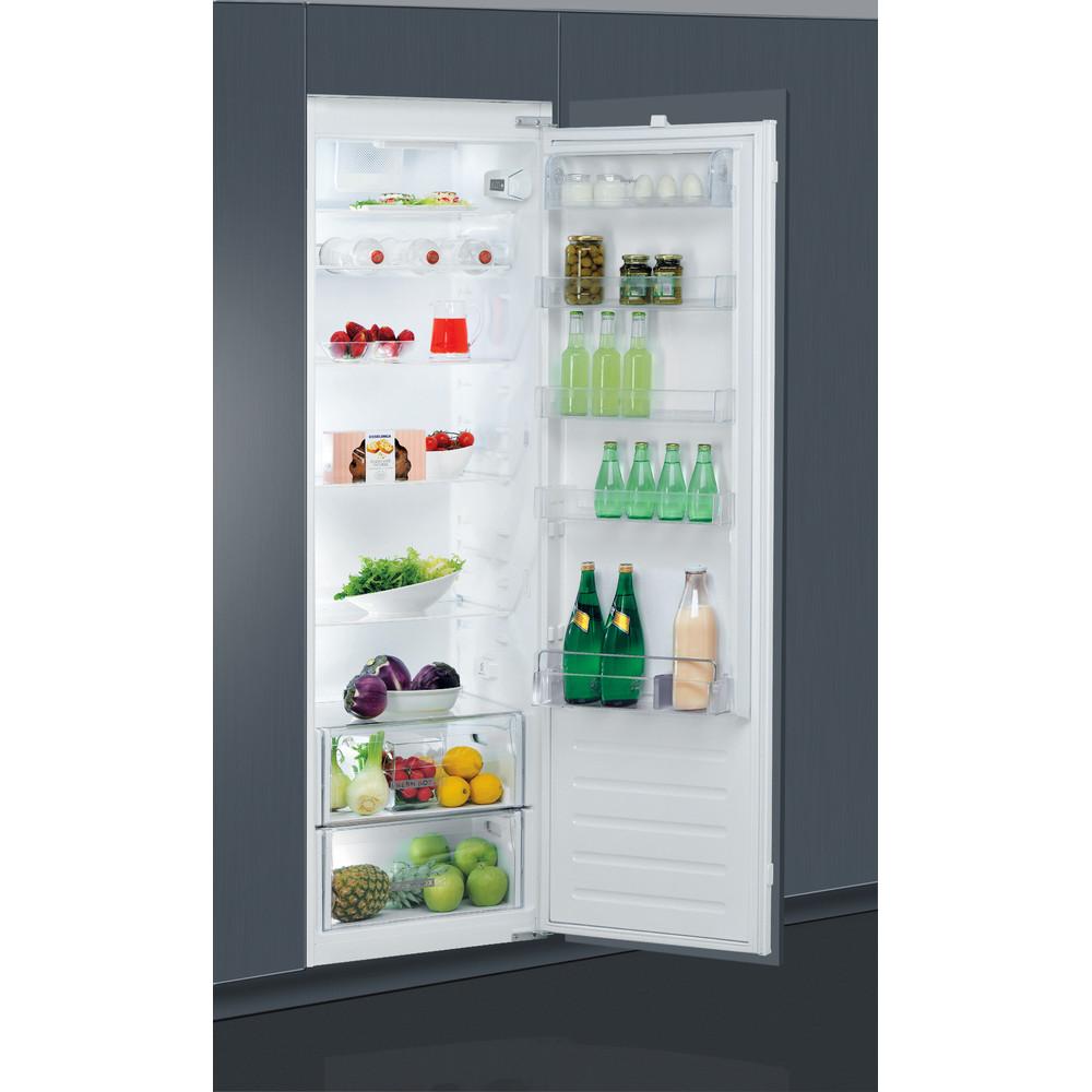 Whirlpool integrert kjøleskap: farge hvit - ARG 180701