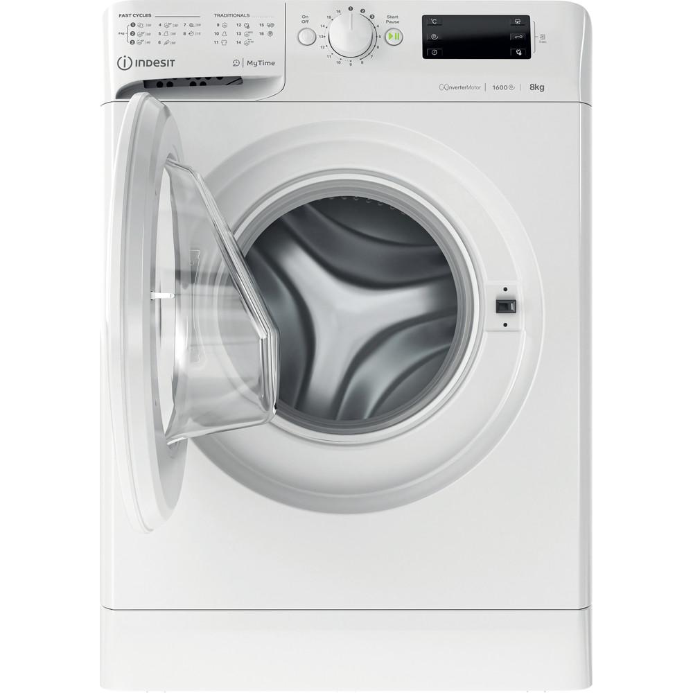 Indesit Tvättmaskin Fristående MTWE 81683 W EU White Front loader D Frontal open