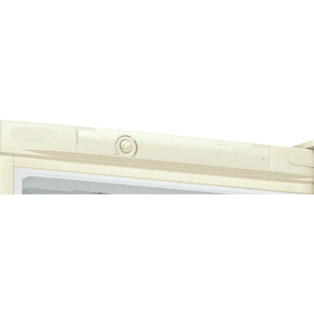Indesit Холодильник с морозильной камерой Отдельностоящий DS 4200 E Розово-белый 2 doors Control panel