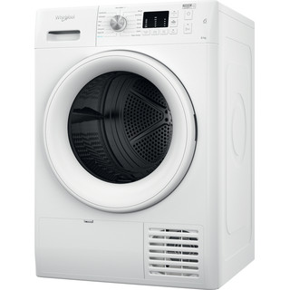 Whirlpool Dryer FFT CM10 8B UK White Perspective