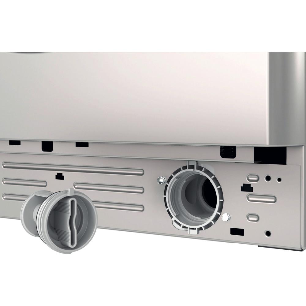 Indesit Washer dryer Free-standing BDE 861483X S UK N Silver Front loader Filter