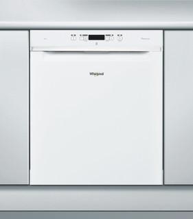 Whirlpool-opvaskemaskine: hvid farve, fuld størrelse - WUC 3C24 P