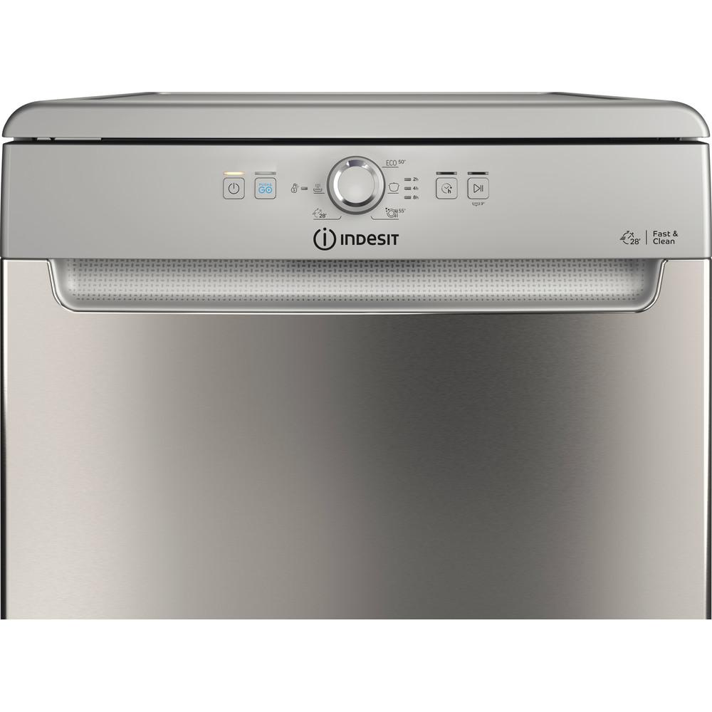 Indesit Dishwasher Free-standing DFE 1B19 X UK Free-standing F Control panel
