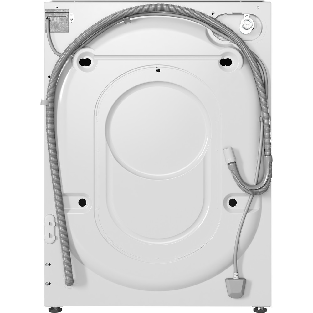 Indesit Washer dryer Built-in BI WDIL 861284 UK White Front loader Back / Lateral