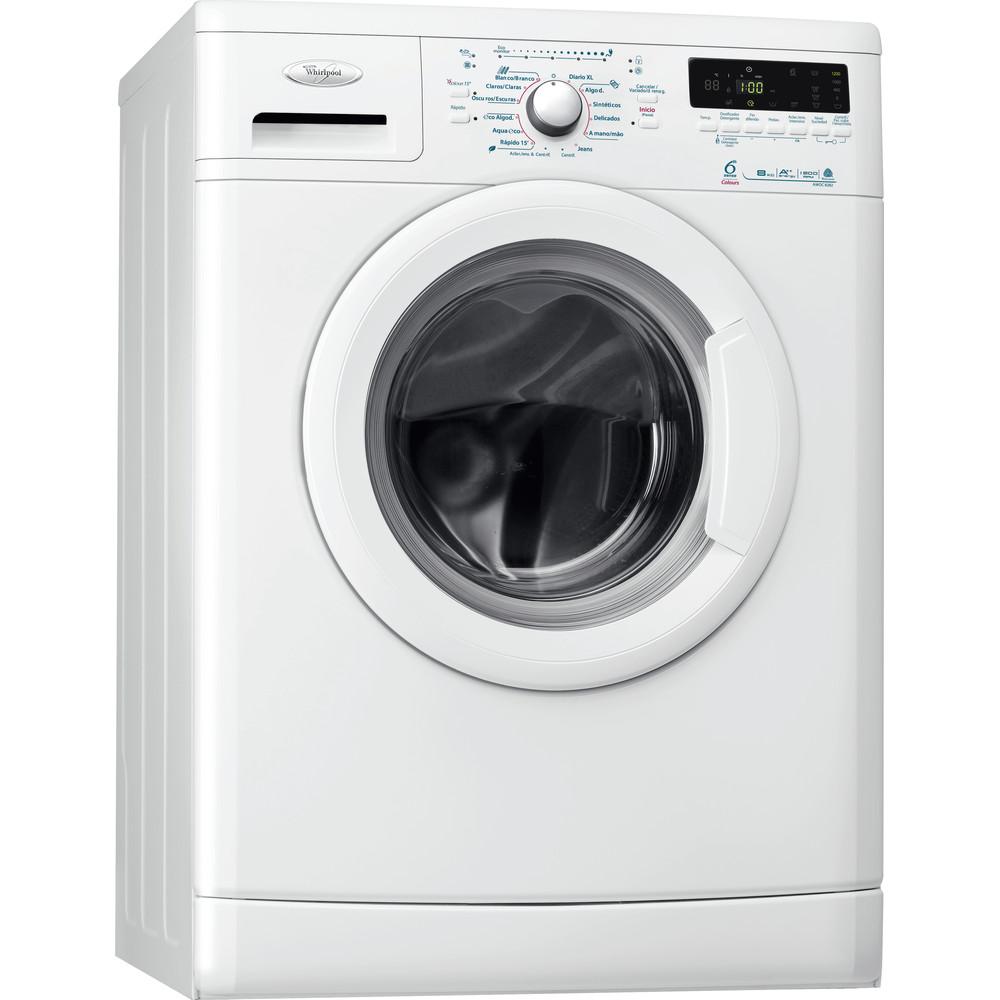Lavadora carga frontal de libre instalación Whirlpool: 8kg - AWOC 8282