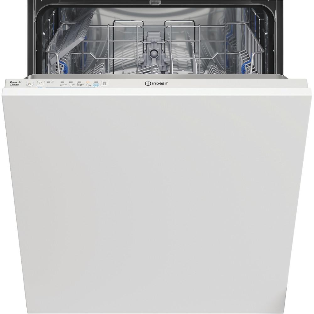 Indesit Lave-vaisselle Encastrable DIE 2B19 Tout intégrable F Frontal