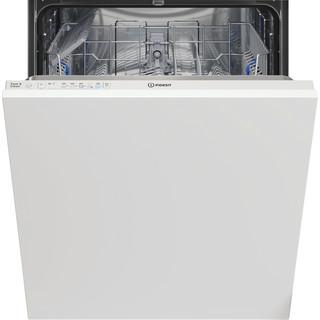 Indesit Máquina de lavar loiça Encastre DIE 2B19 Encastre total F Frontal