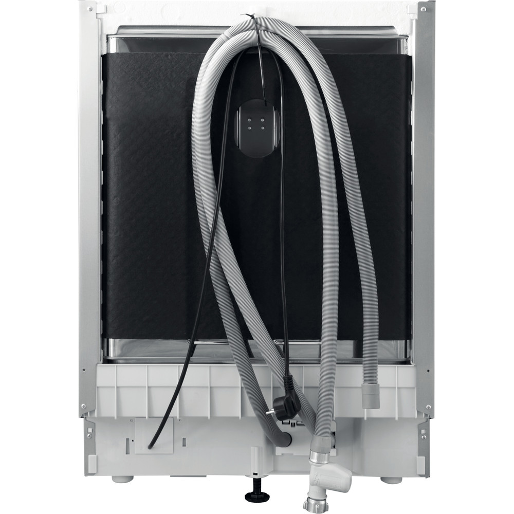 Indesit Lavavajillas Encastre DIE 2B19 A Full-integrated F Back / Lateral