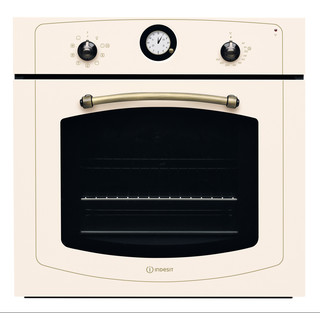 Indesit Духовой шкаф Встраиваемый IFVR 801 H OW Электрическая A Frontal