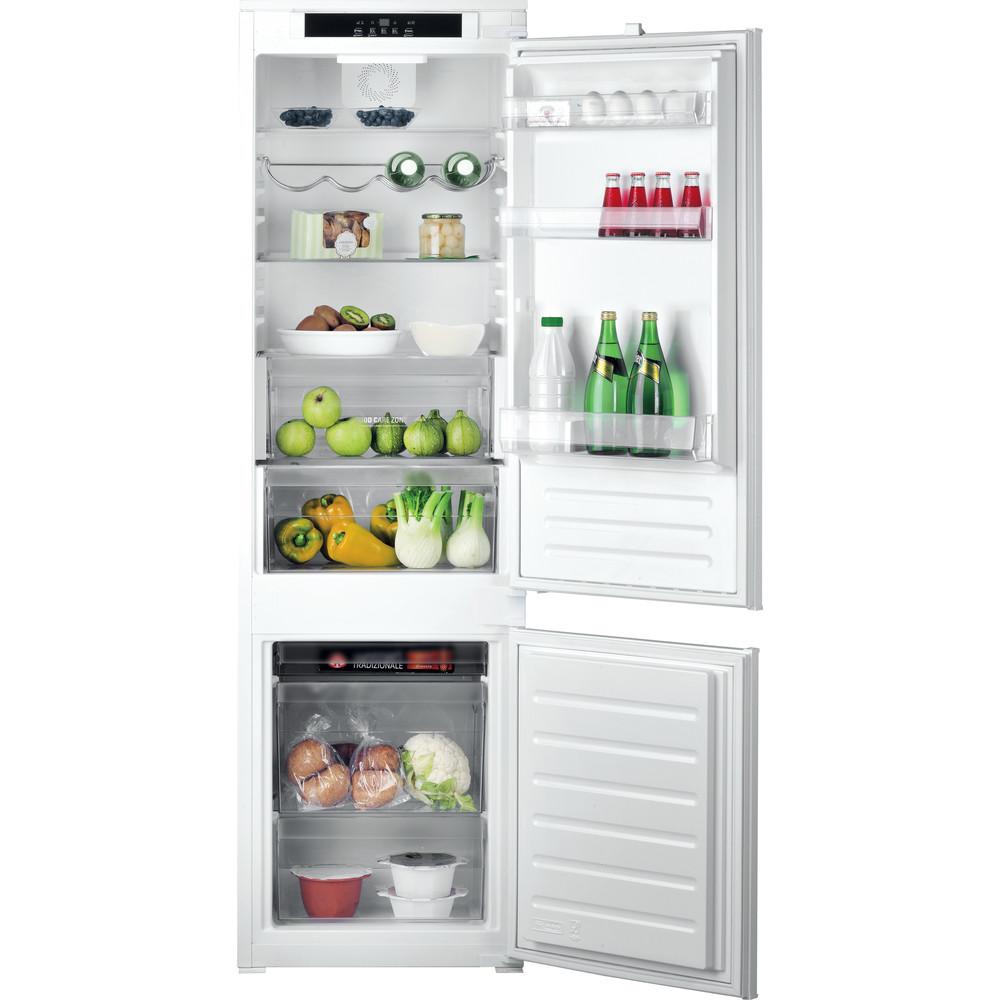 Hotpoint_Ariston Комбинированные холодильники Встраиваемая BCB 7525 E C AA O3(RU) Сталь 2 doors Frontal_Open