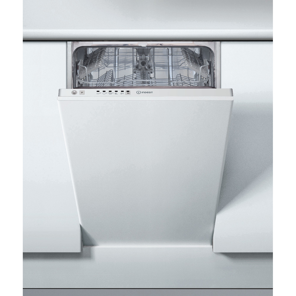 """Indesit"" Indaplovė Įmontuojama DSIE 2B19 Full-integrated A+ Lifestyle frontal"